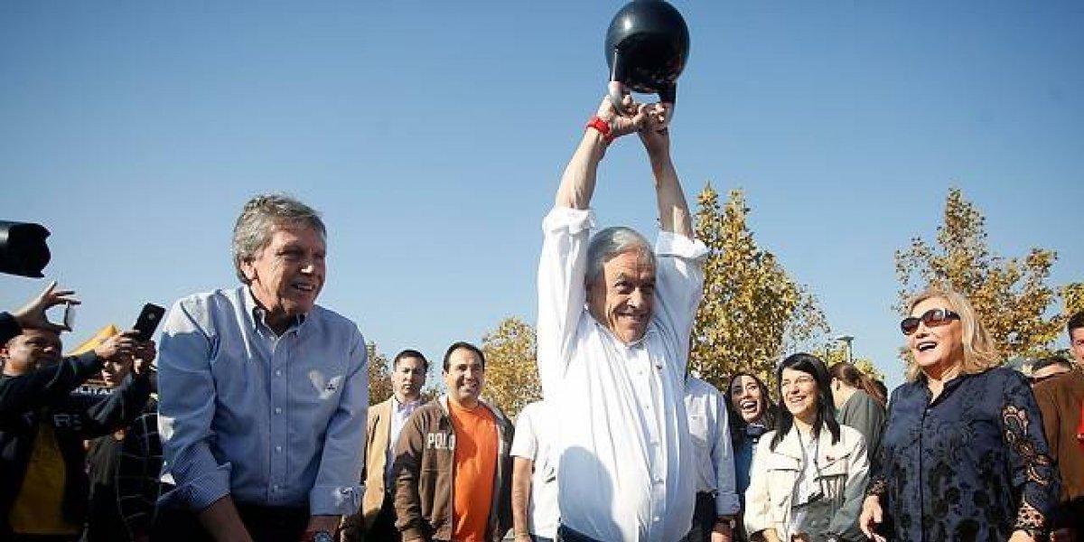 """Piñera relanza uno de los programas estrella de su anterior gobierno: """"Elige vivir sano"""""""