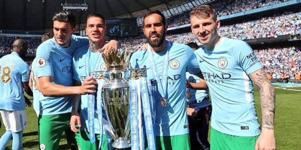 """""""We are the Champions"""": el festejo de Claudio Bravo campeón de la Premier League con el City"""