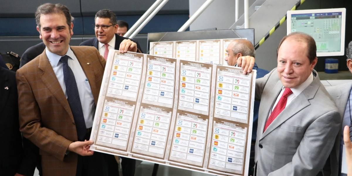 INE arranca impresión de boletas para elecciones federales
