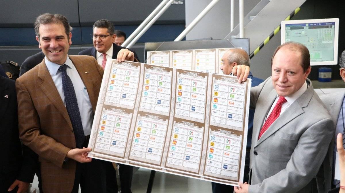 Ese domingo arrancó la impresión de boletas para elegir Presidente de la República. Foto: Cecilia Borja.