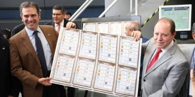 Boletas electorales.