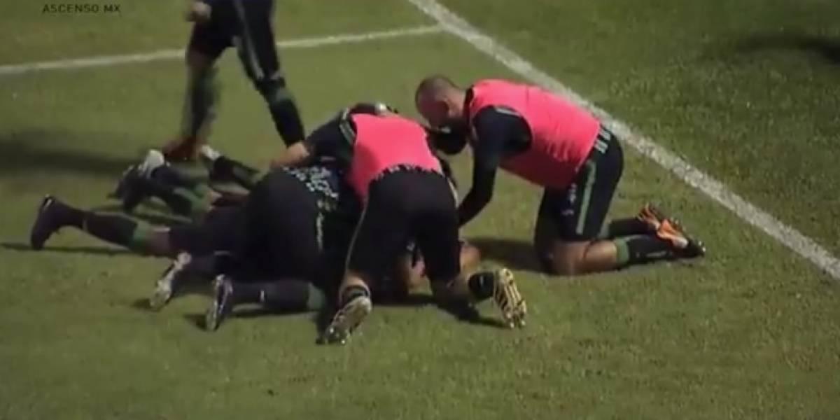 Cafetaleros golean a Alebrijes en final de ida del Ascenso MX