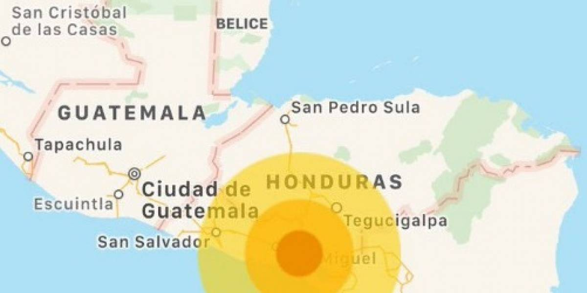Se registran dos sismos consecutivos en la costa de El Salvador