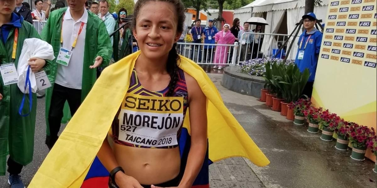 Caso de la marchista Glenda Morejón y su categoría en Alto Rendimiento