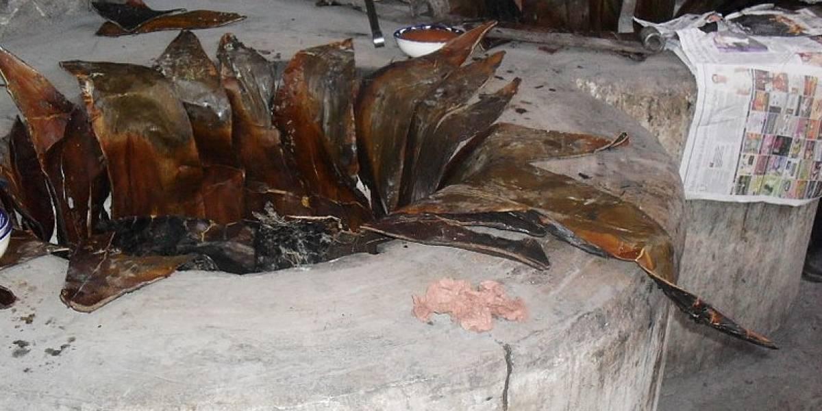 Asesina a su madre y la entierra en un horno de barbacoa