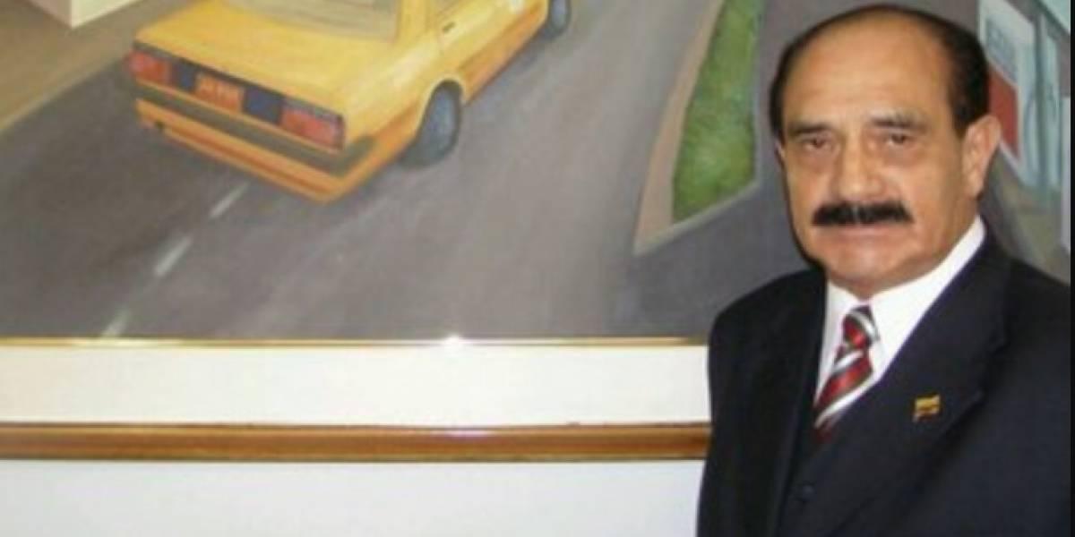 Falleció Uldarico Peña, líder del gremio de taxistas