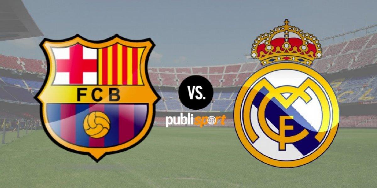 Barcelona y Real Madrid empatan en el Clásico español