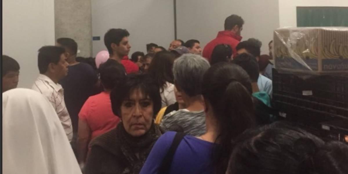 Reportan asalto en centro comercial de Tlalpan