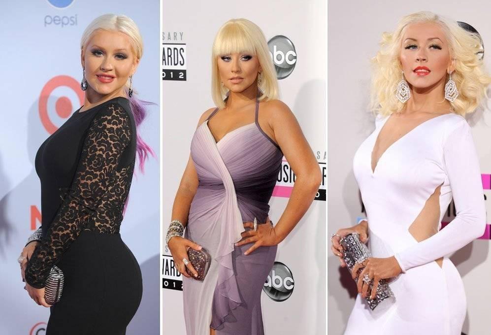 Antes y después de Christina Aguilera