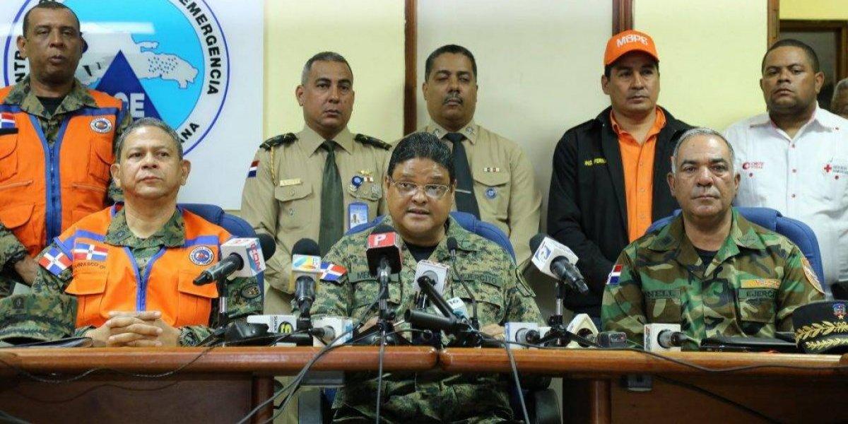 El COE aumenta a 24 las provincias dominicanas en alerta por lluvias
