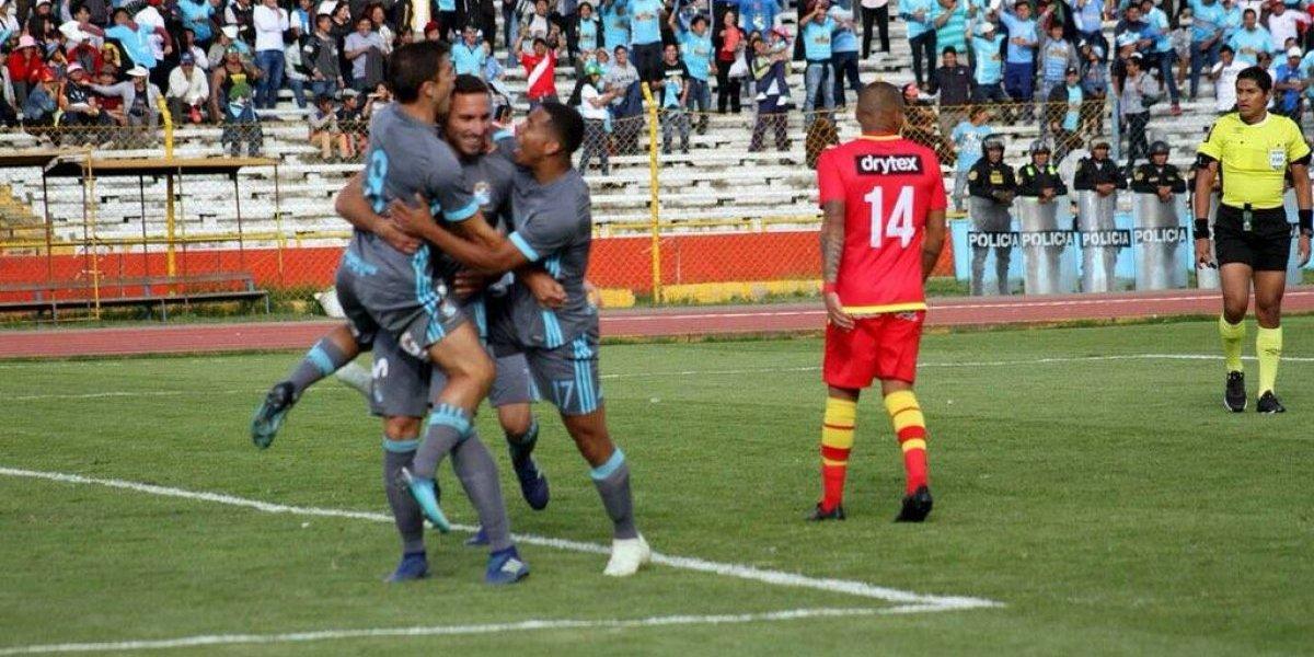 El Cristal de Mario Salas rescató empate en la final de ida del Torneo de Verano en Perú