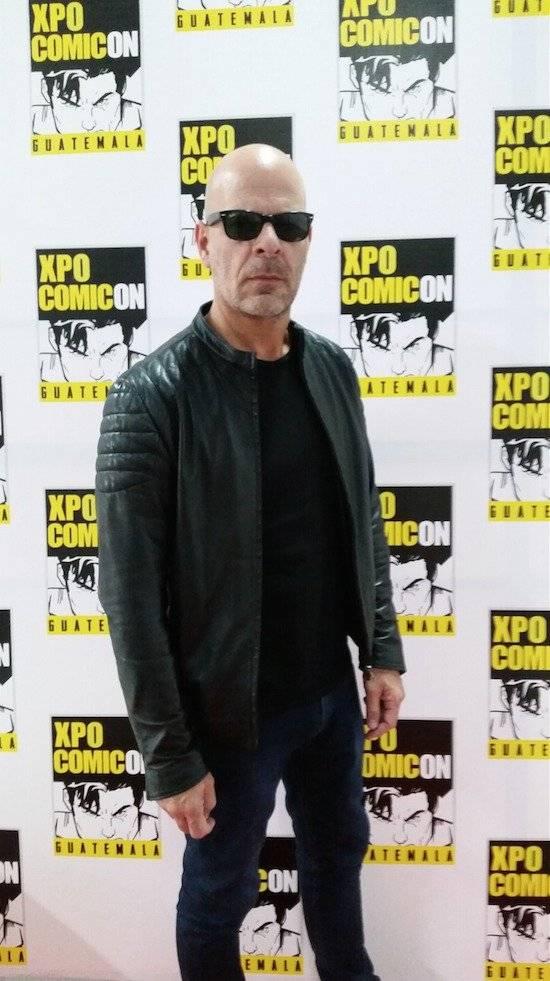 """Pablo Perillo es conocido como """"el doble de Bruce Willis"""". Foto: David Lepe Sosa"""