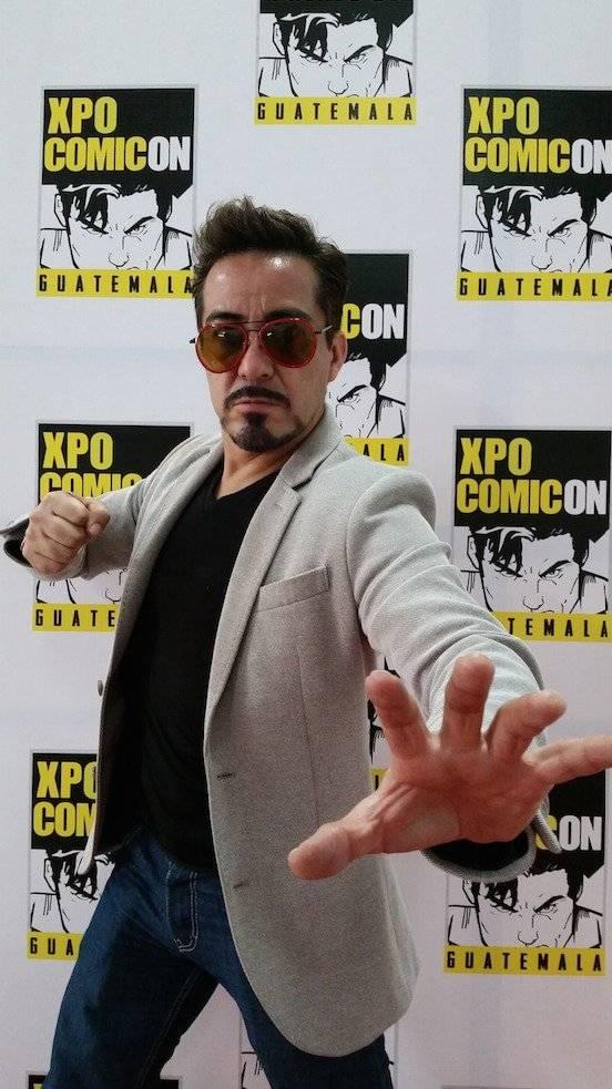 """El mexicano Eduardo Mosqueda es conocido como """"el doble de Tony Stark/Iron Man"""". Foto: David Lepe Sosa"""