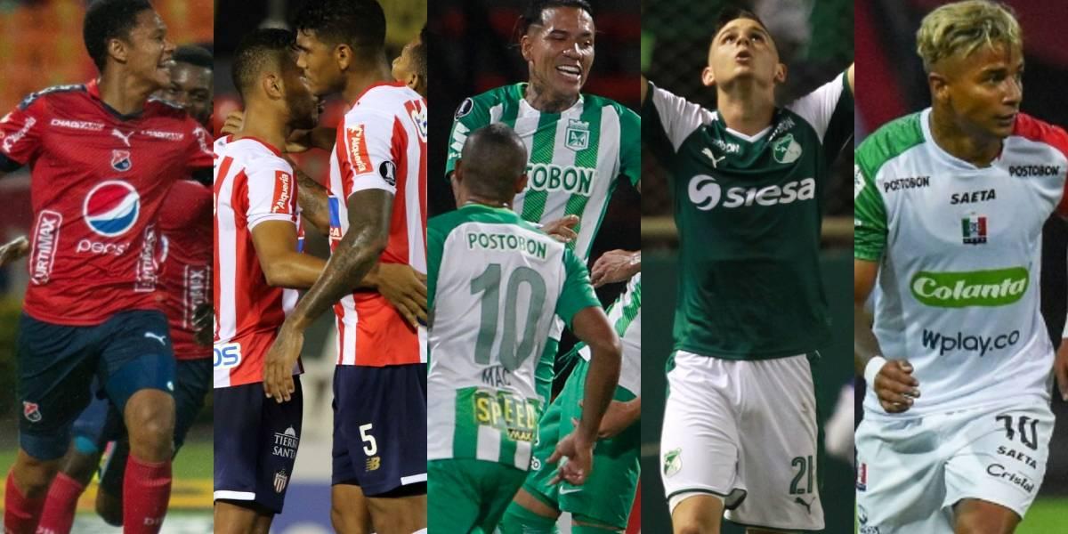 Definida la programación de los cuartos de final de la Liga Águila 1-2018