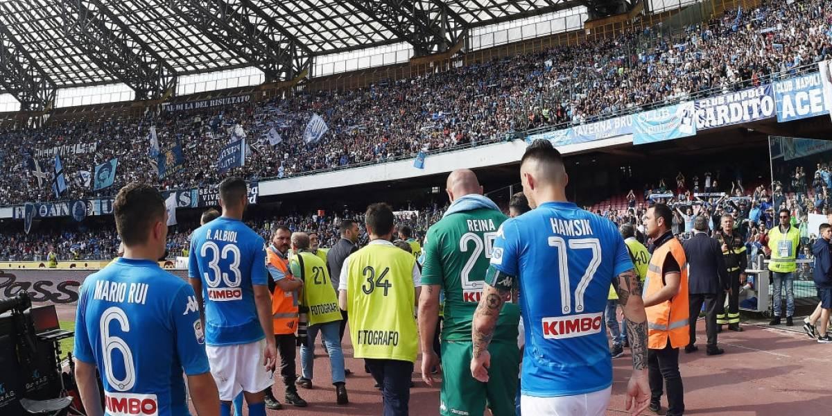 Napoli volvió a fallar y le dio en bandeja el heptacampeonato del Calcio a Juventus