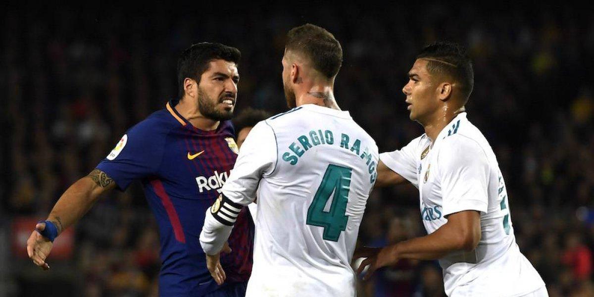 Gol de Suárez en el clásico
