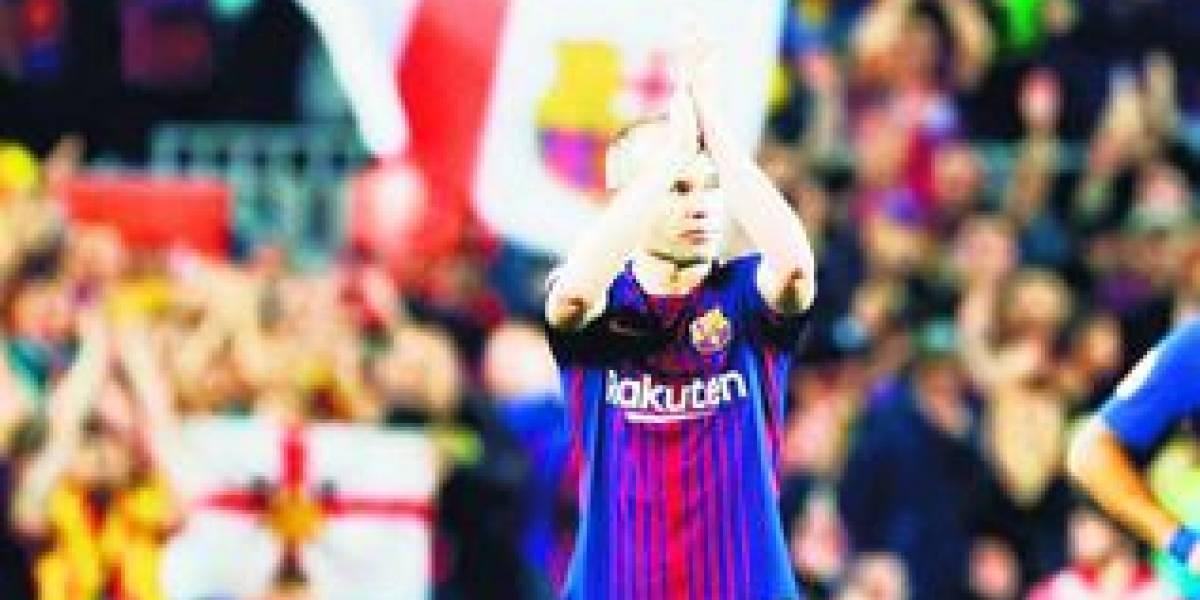 Iniesta se despide del clásico español con un Barça invicto
