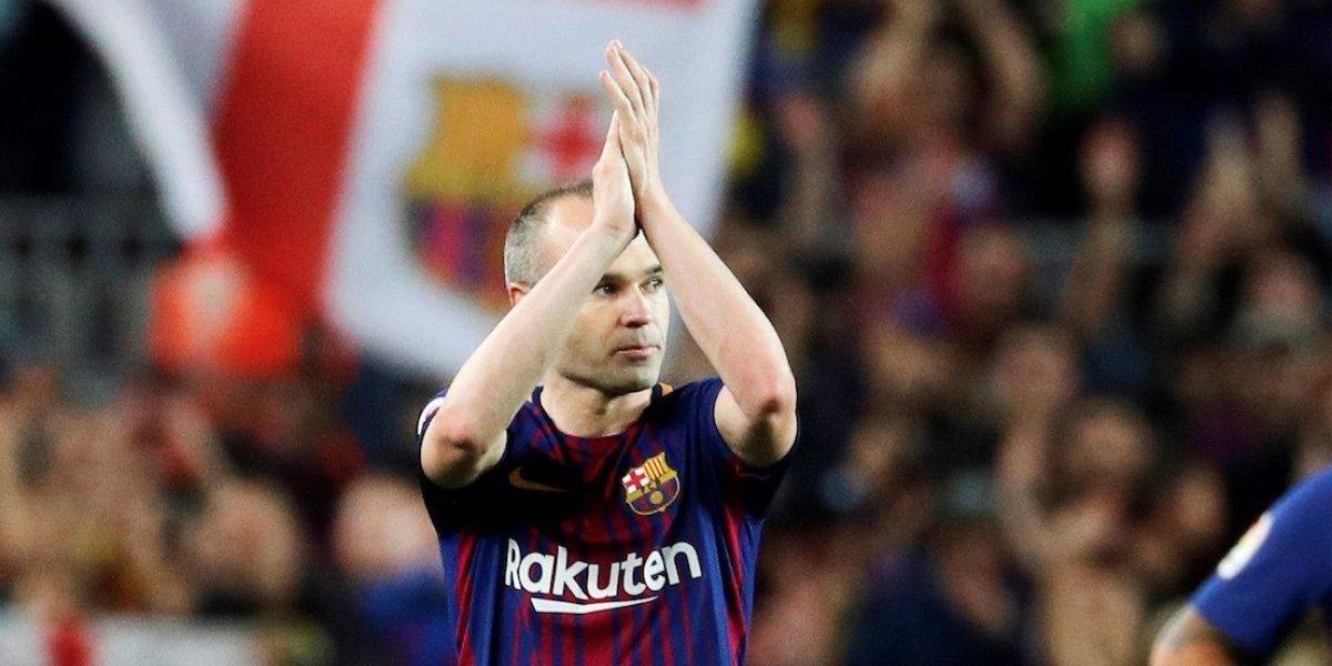 Así se despidió Iniesta en su último Clásico con la camiseta del Barça