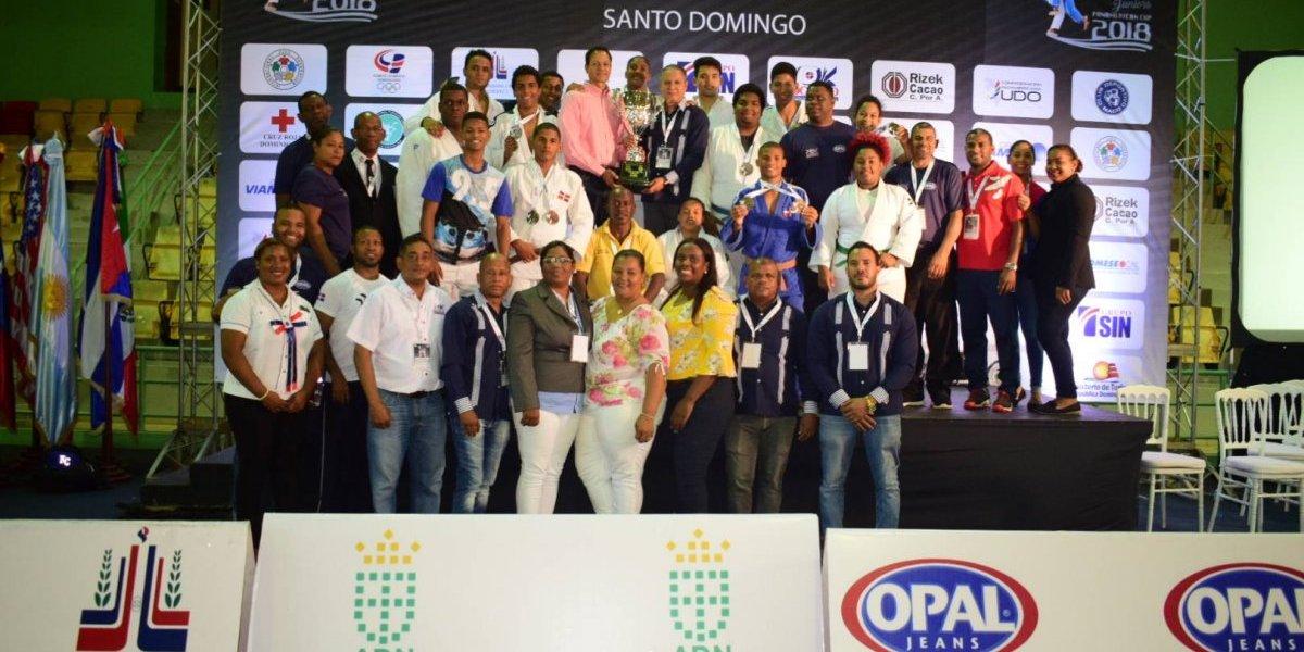 RD gana la Copa Santo Domingo del Caribe de Judo