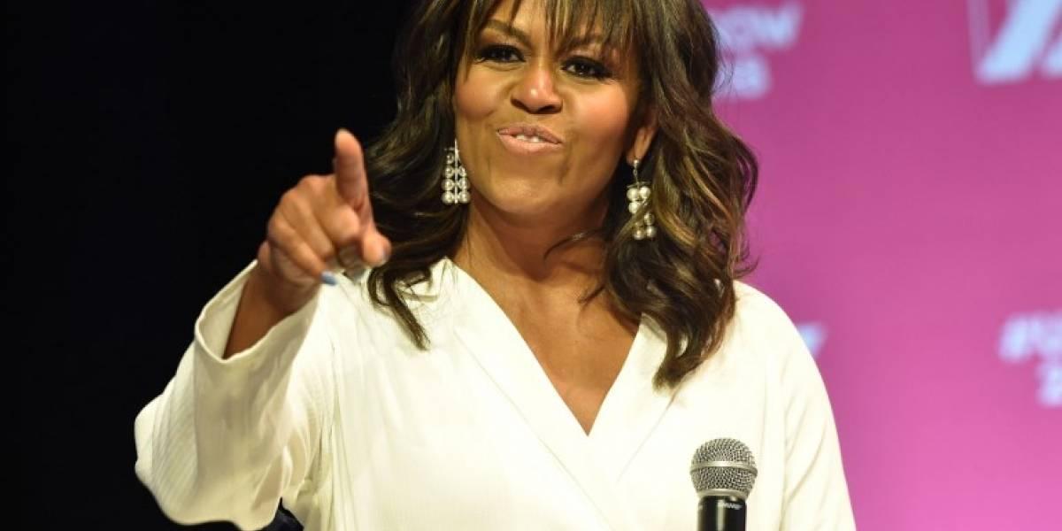 "Michelle Obama dice que ningún candidato ""salvará"" a Estados Unidos"