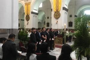 Misa de 9 días de Álvaro Arzú