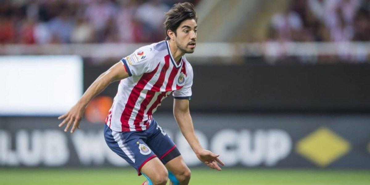 FOTO: Rodolfo Pizarro llega a Monterrey