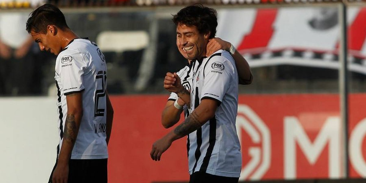 """El Mago Valdivia valoró el esfuerzo de Colo Colo: """"Era muy difícil hoy, estábamos muy cansados"""""""