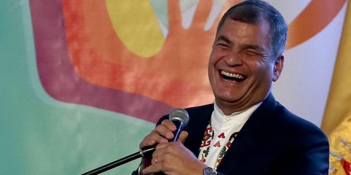 Rafael Correa anuncia nuevo movimiento político