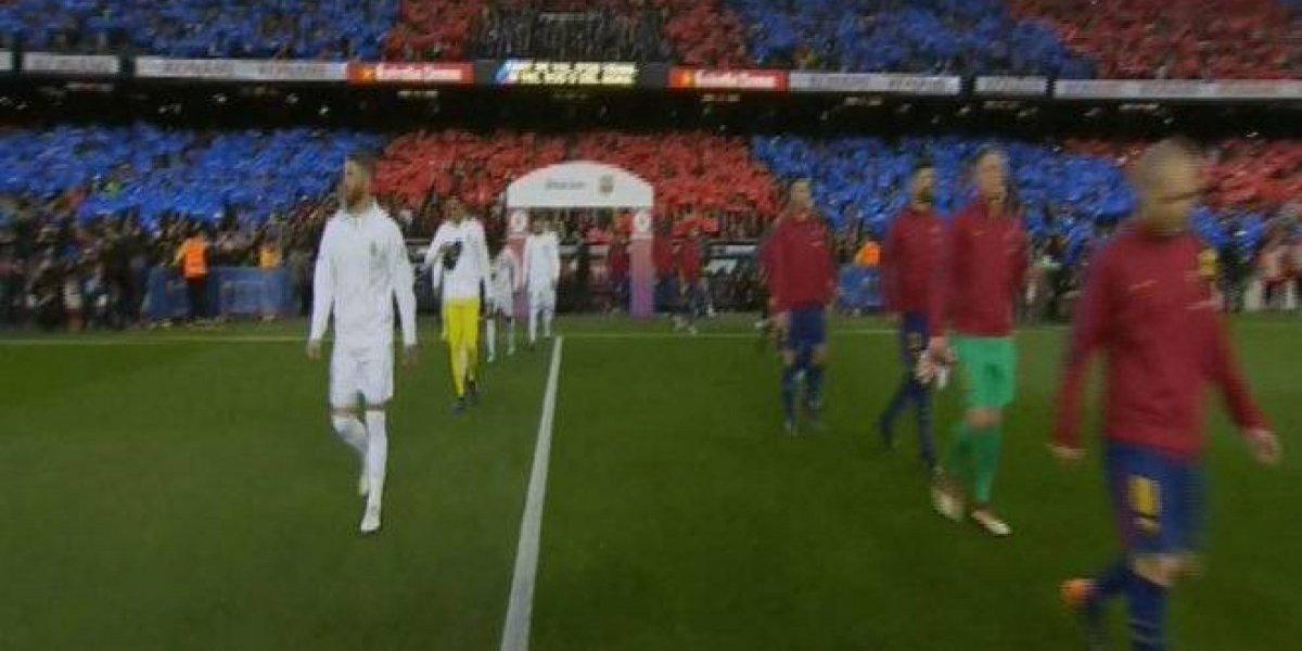 El Real Madrid cumplió lo dicho y no le hizo el pasillo al Barcelona