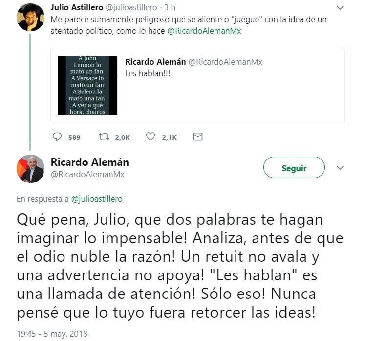 Despide Televisa a Ricardo Alemán