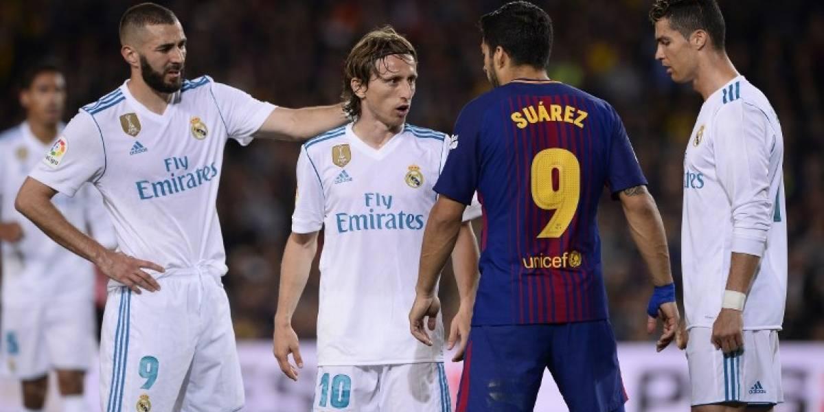 Entre patadas y goles, Barça y Madrid firman un empate en el Clásico