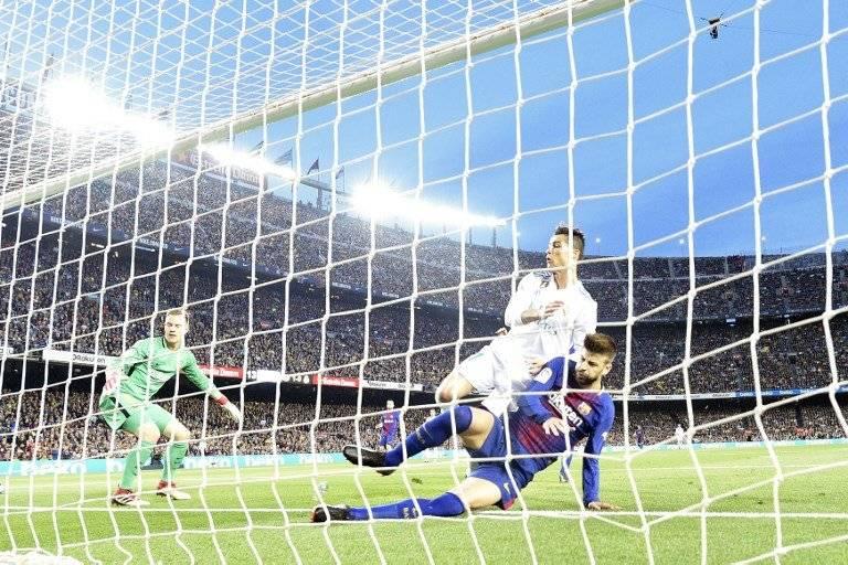 Gol de Cristiano Ronaldo contra el Barcelona
