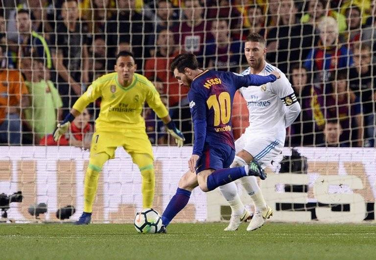 Gol de Lionel Messi contra el Real Madrid