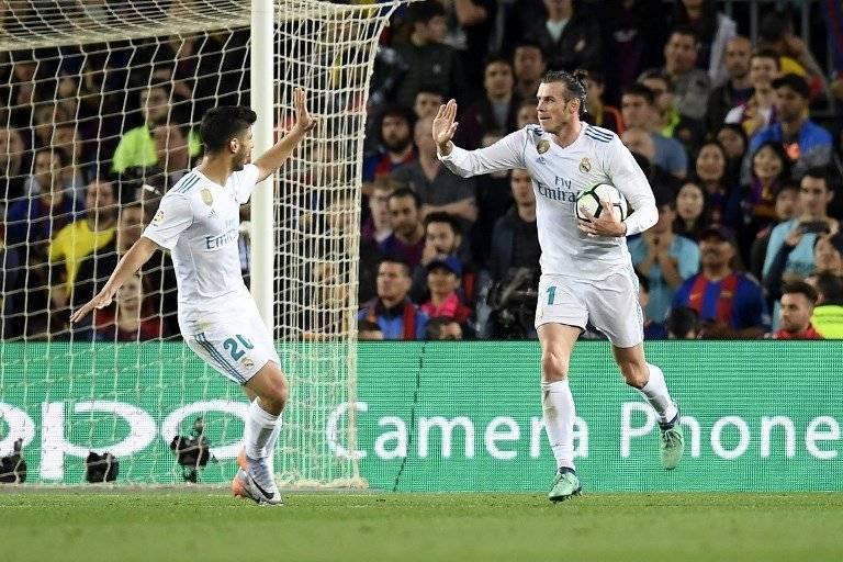 Gol de Gareth Bale contra el Barcelona