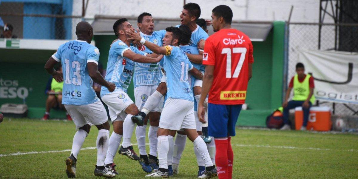 Dos equipos departamentales avanzan directo a las semifinales del Clausura 2018