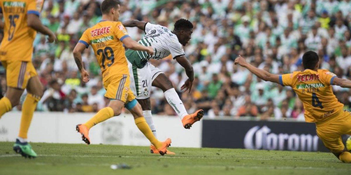 Santos vino de atrás para eliminar a Tigres y avanzar a semifinales donde enfrentará a América