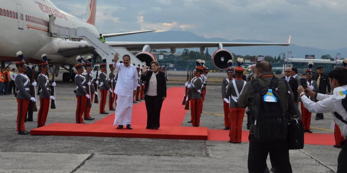 Vicepresidente de la India se reunirá con el presidente Varela
