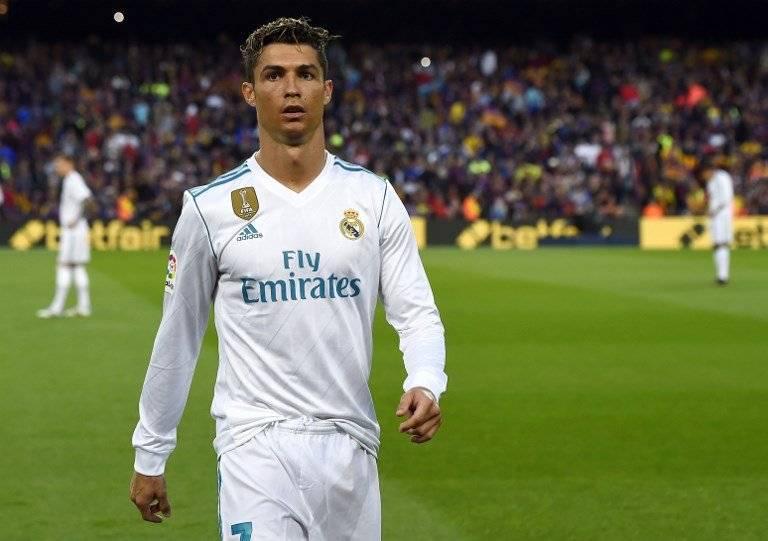 Cristiano Ronaldo momentos previos a salir de cambio