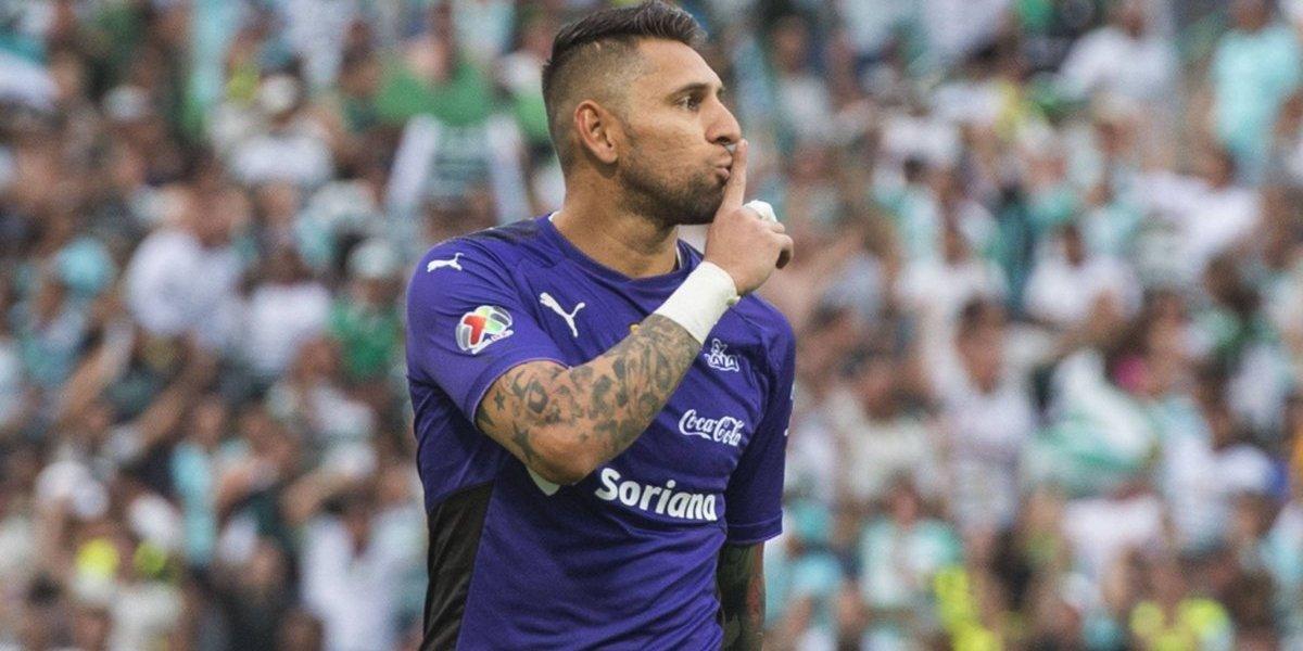 Jonathan Orozco se burla de Tigres tras eliminarlos de Liguilla