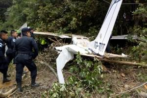 accidente de avioneta en Totonicapán