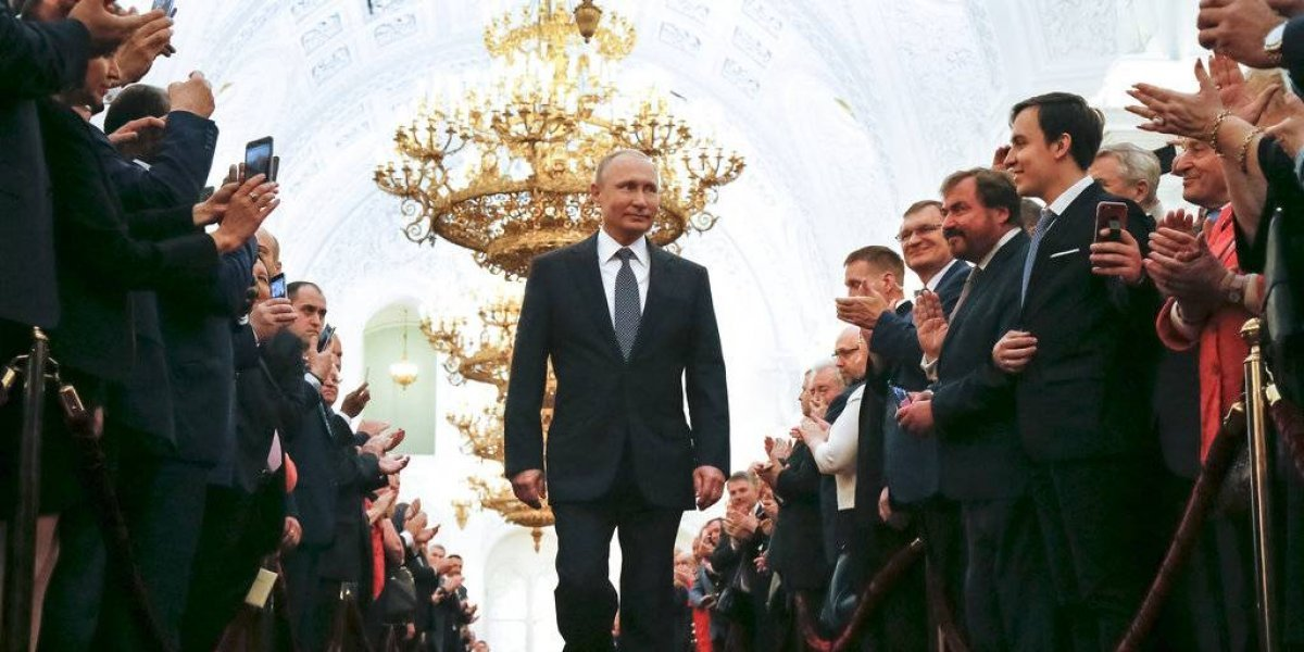 Putin asume presidencia de Rusia por cuarta vez; gobernará hasta 2024