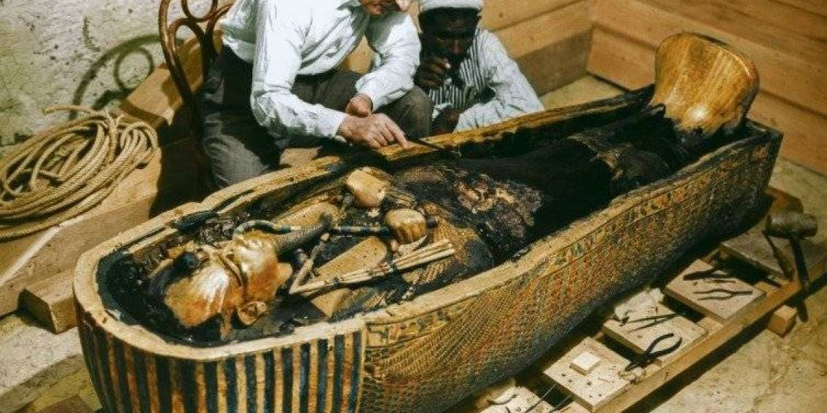 Resuelven el misterio de los espacios secretos en la tumba de Tutankamón
