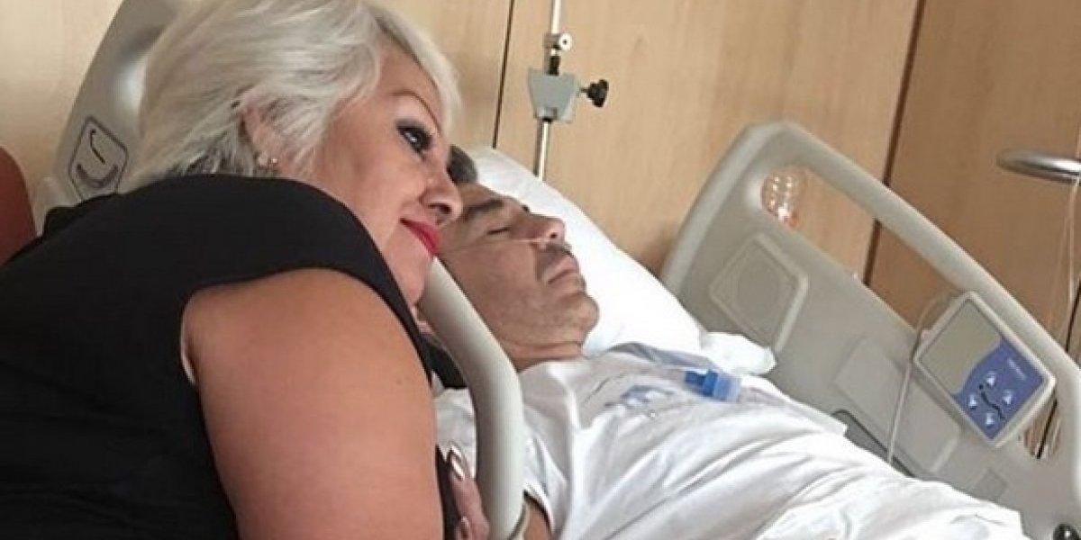 Una vez más, Adrián Uribe fue hospitalizado de emergencia