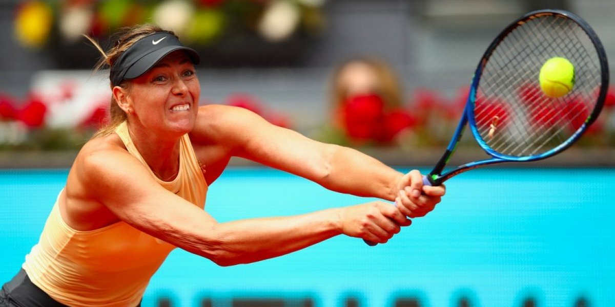 Sharapova se instala en Octavos de Final de Madrid