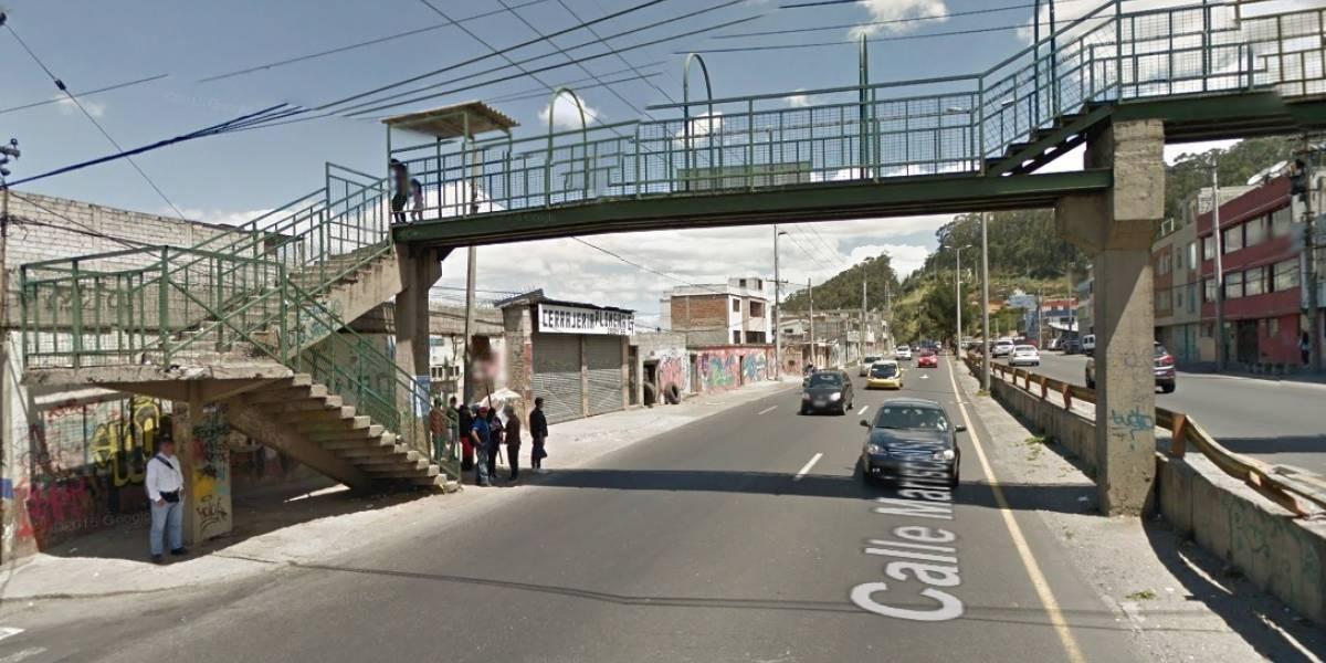 Quito: Moradores se tomarán la Av. Mariscal Sucre para exigir paso peatonal