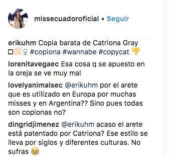 Miss Ecuador @missecuadoroficial