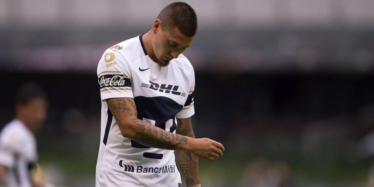 Nicolás Castillo manda emotiva despedida a la afición de Pumas