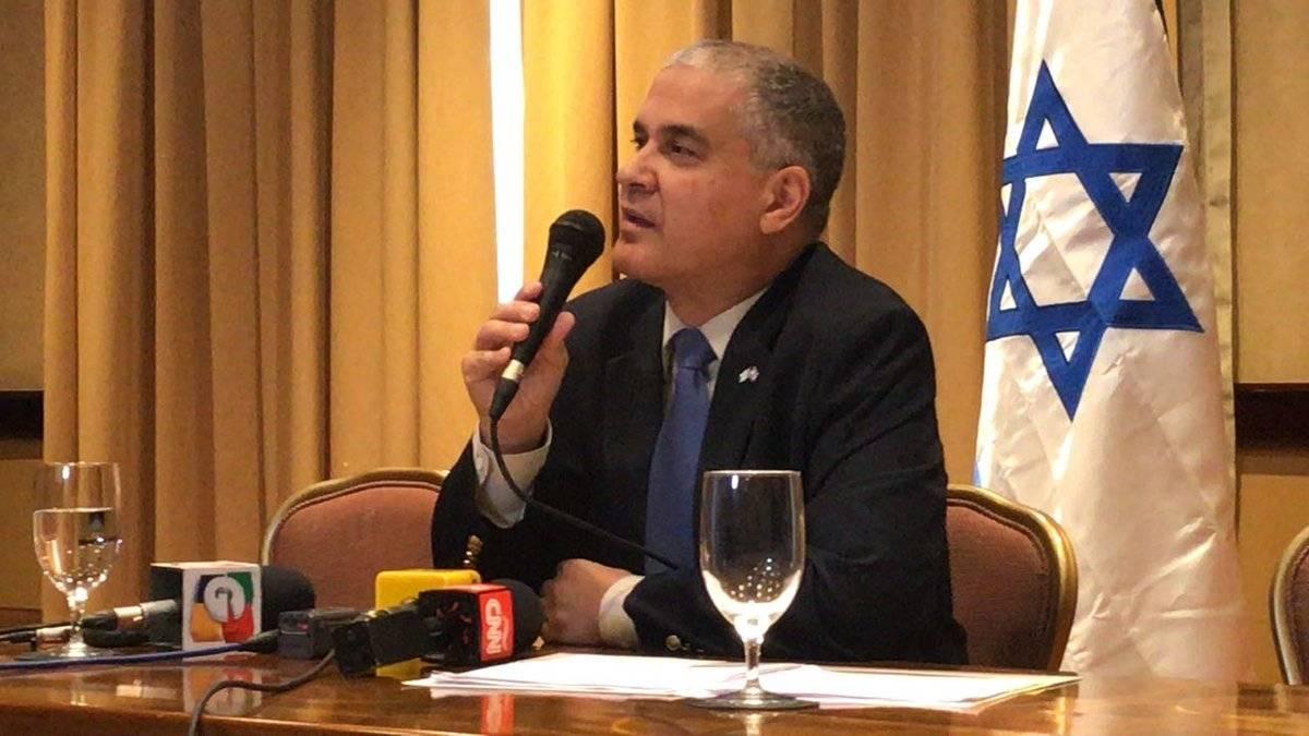 Embajador de Israel en Guatemala Mattanya Cohen
