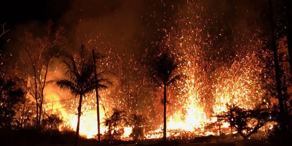 FOTOS. Alerta en Hawái por erupción explosiva en la cima del volcán Kilauea