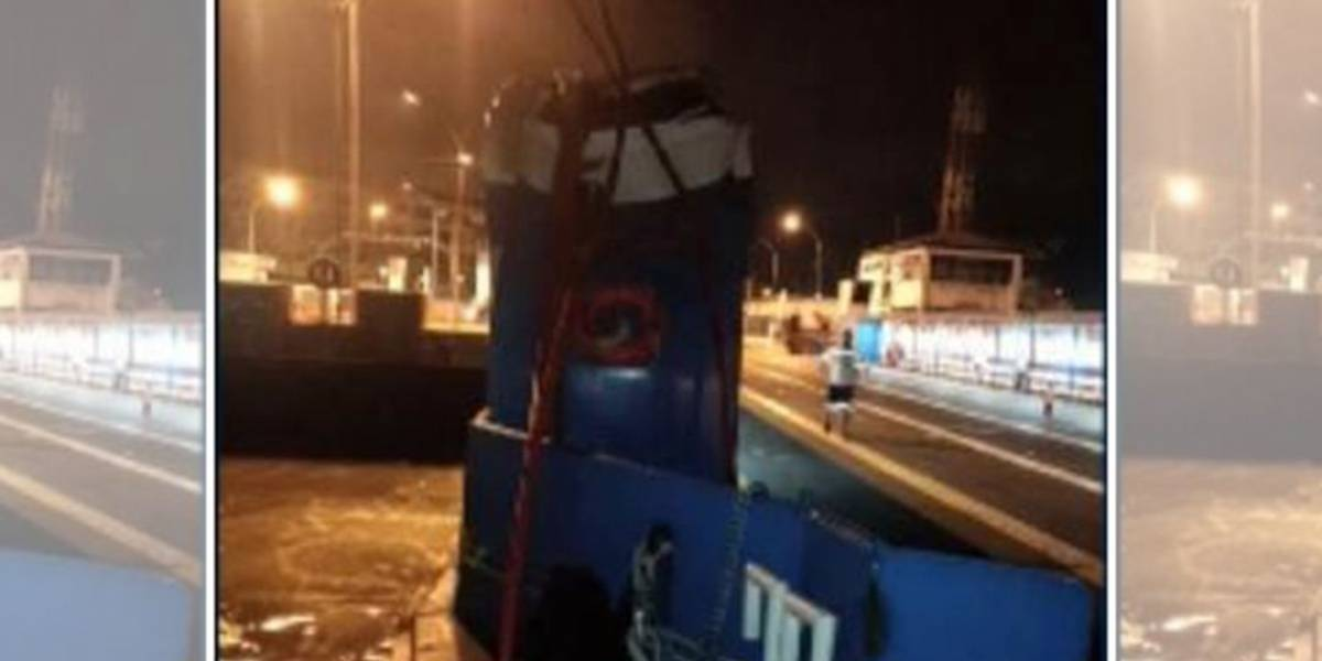 Balsas da travessia Santos-Guarujá são reduzidas após acidente